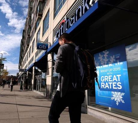 The Citibank branch at 1367 Boylston street in the Fenway neighborhood is leaving in two months.